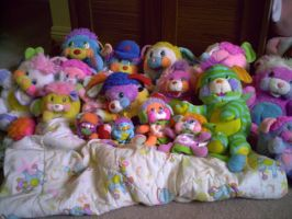 my popples collection by WolffangMireiyu