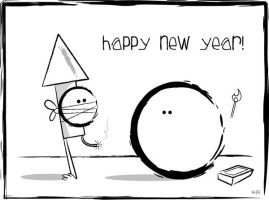 Happy New Year from Cabbage by Wiggagram