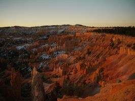 First Light, Sunrise Point, Bryce Canyon N.P. Utah by PamplemousseCeil