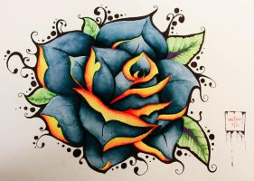 First rose by marretiina