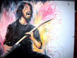 Foo Fighters by MoonpigsART