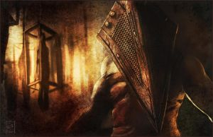Pyramid Head by Emortal982