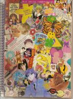 My Poems Notebook's Cover by luxferia