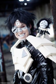 Cosplay Photoshoot - Sechs: Battle Angel Alita (8) by Drakkashi