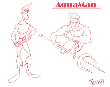 A is for Aquaman by JoshawaFrost