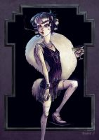 Flapper by nastynoser
