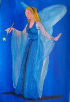 Blue Fairy by billywallwork525
