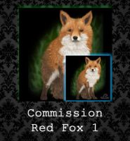 COMMISSION - Red Fox (1) by PointyHat