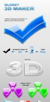 3D Glossy Maker by ArtoriusGothicus