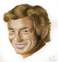 Painting: Name that TV Actor by ArcaneLights