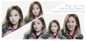 Taeyeon Pngs by ryeddh20