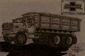 1978 Chevrolet C70 Tandem Axel Grain Truck by Deorse
