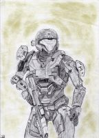 Kat from Halo-Reach by LMZ75