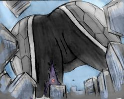 Giantess Draw - Tali'Zora POV by Colonel-Gabbo