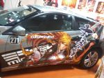 Honda CR-Z Mirai Itasha (Left Door) by FAT8893