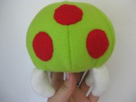 Metroid plushie by Voldenae