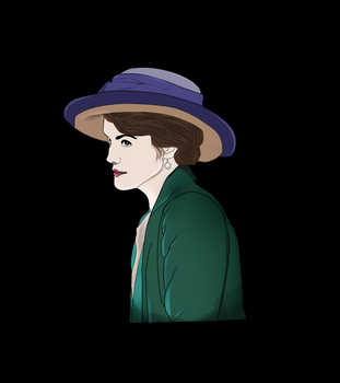 Mary Crawley - Downton abbey by newmeen