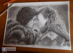 Jon Snow and Ygritte by Christyne01