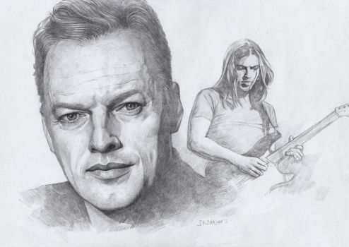 David Gilmour by Shishkina