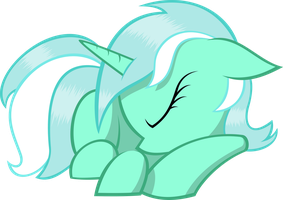 Sleeping Lyra by KalleFlaxx