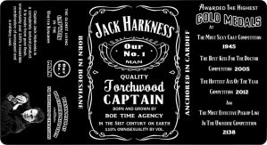 Jack Harkness Whiskey Label by Lord-Koprovold