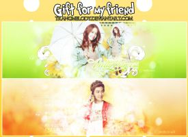 Gift for Ly and Pon by TrangMelody
