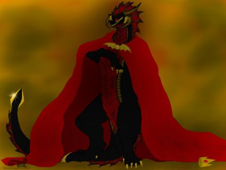Underfell: The Dragon's Rise to Power by BlackDragon-Studios