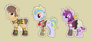 Steam-Powered Ponies by 0Box-Ghost0