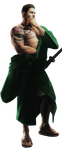 Chris - Green Samurai Render by RPGxplay