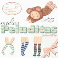 Medias Peluditas Kit de SentimentalMint by SentimentalMint