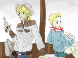APH: Texas and Alberta by Misharoyuki