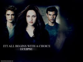 It all begins with a choice. by Hesavampire