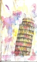 Leaning Tower Of Pisa by evxnne
