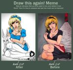 Draw this again by Vossy