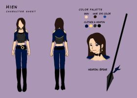 character sheet by lydia kencana by dottypurrs
