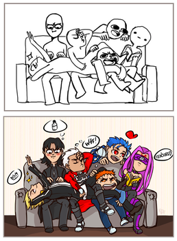 Draw your squad #1 by KeyHof