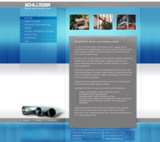 Metalconstruction 02 - Website by medienvirus
