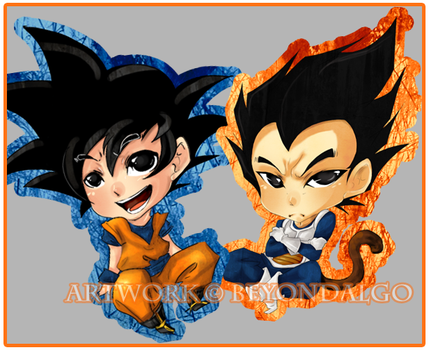 Obnoxious Chibis by Kinosthetic