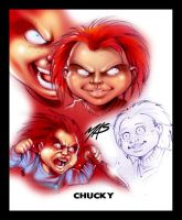 Chucky Study by theMASman