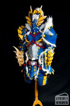 Zinogre Armor Monster Hunter dx by Dewbunch