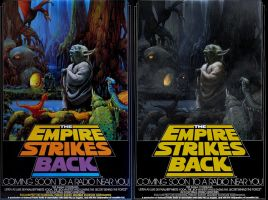 Empire Strikes Back Poster by AggeIw