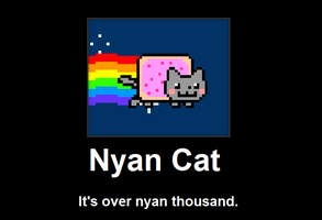 Nyan Cat Demotivational by SilverKats101