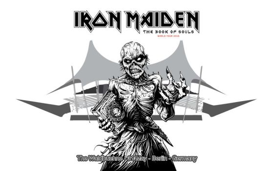 Iron Maiden - TBOS world tour 2016 -Waldbuehne -D by croatian-crusader