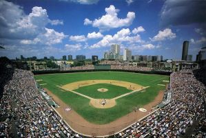 Wrigley Field by ztodden