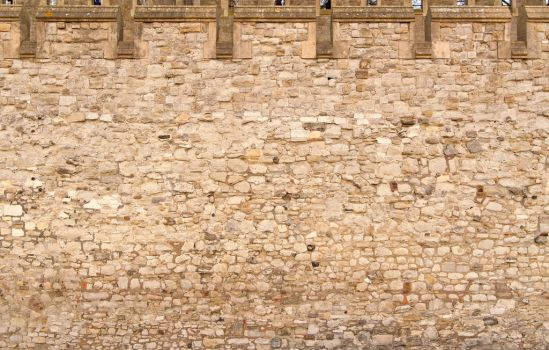 Tower of London Wall by goodtextures