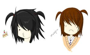 -Death Note Pigtail Fad- by Sephora-chan