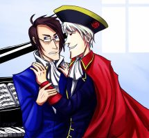 Prussia and Austria by zizzy