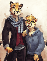 SpotTheCat - Commission by TasDraws