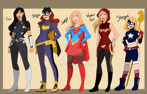 My own DC universe part 1 by Andi-Tiucs