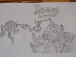 Yorick, the Grave Digger by CrazycheeseEU